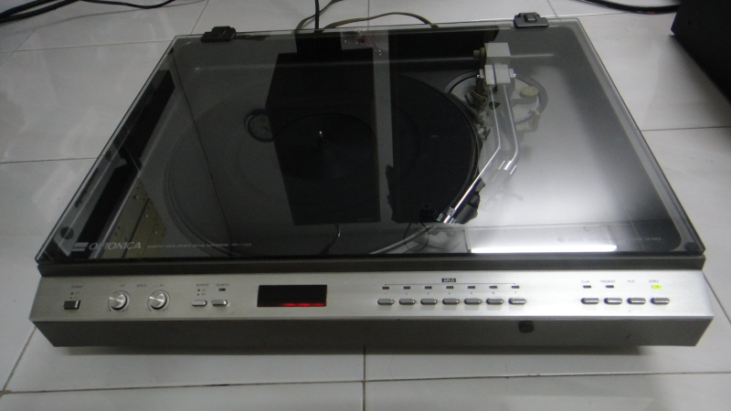 Sharp Optonica Rp 7100 Turntable Used Sold