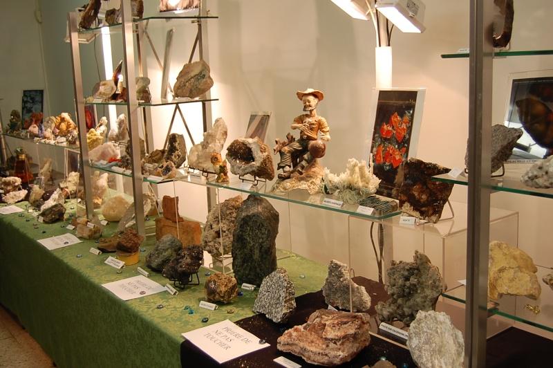 forum frontignan, exposition minéraux salle Izzo