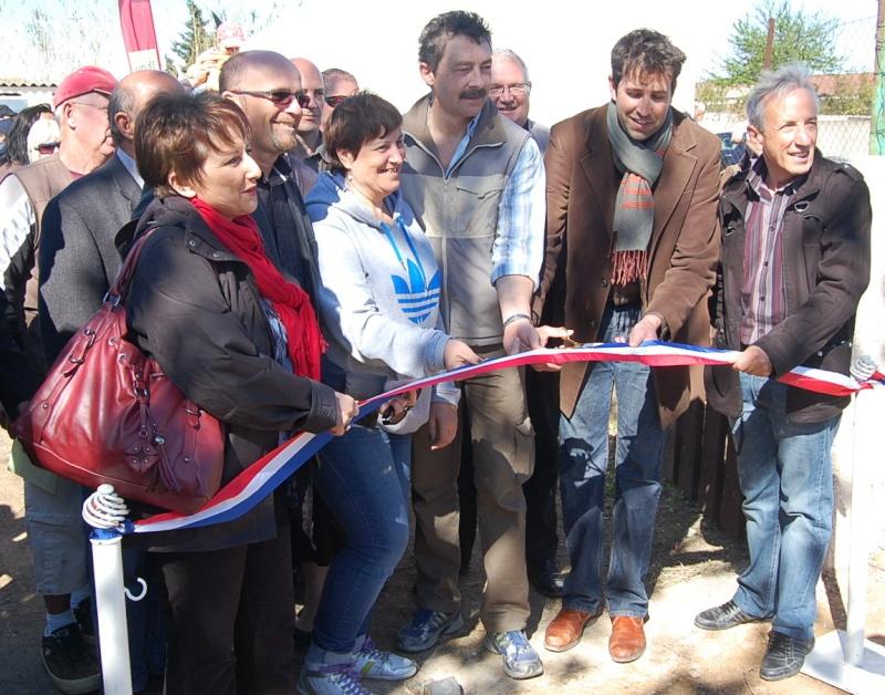 inauguration des nouveaux jardins partagés de Frontignan