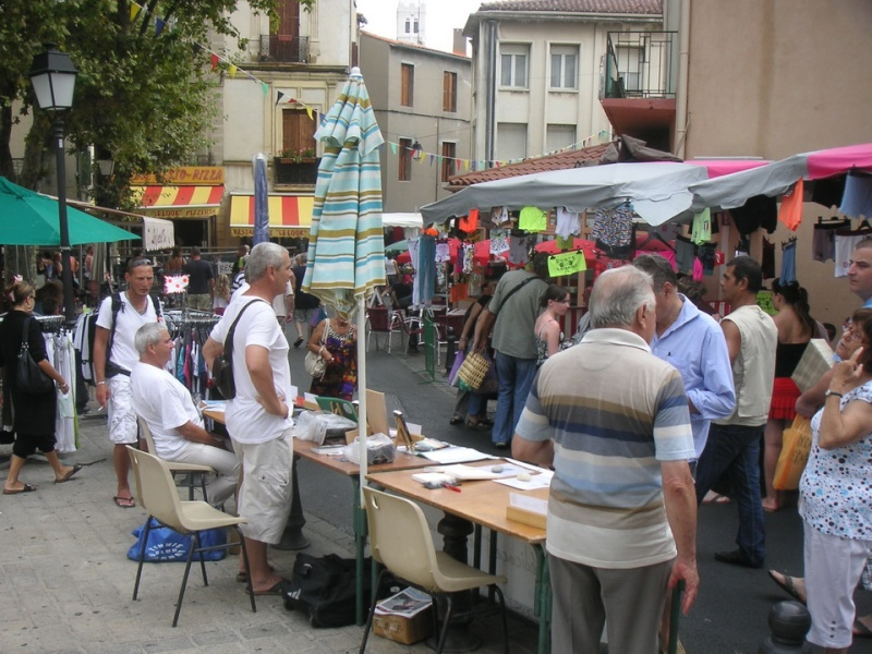 Marché de Frontignan