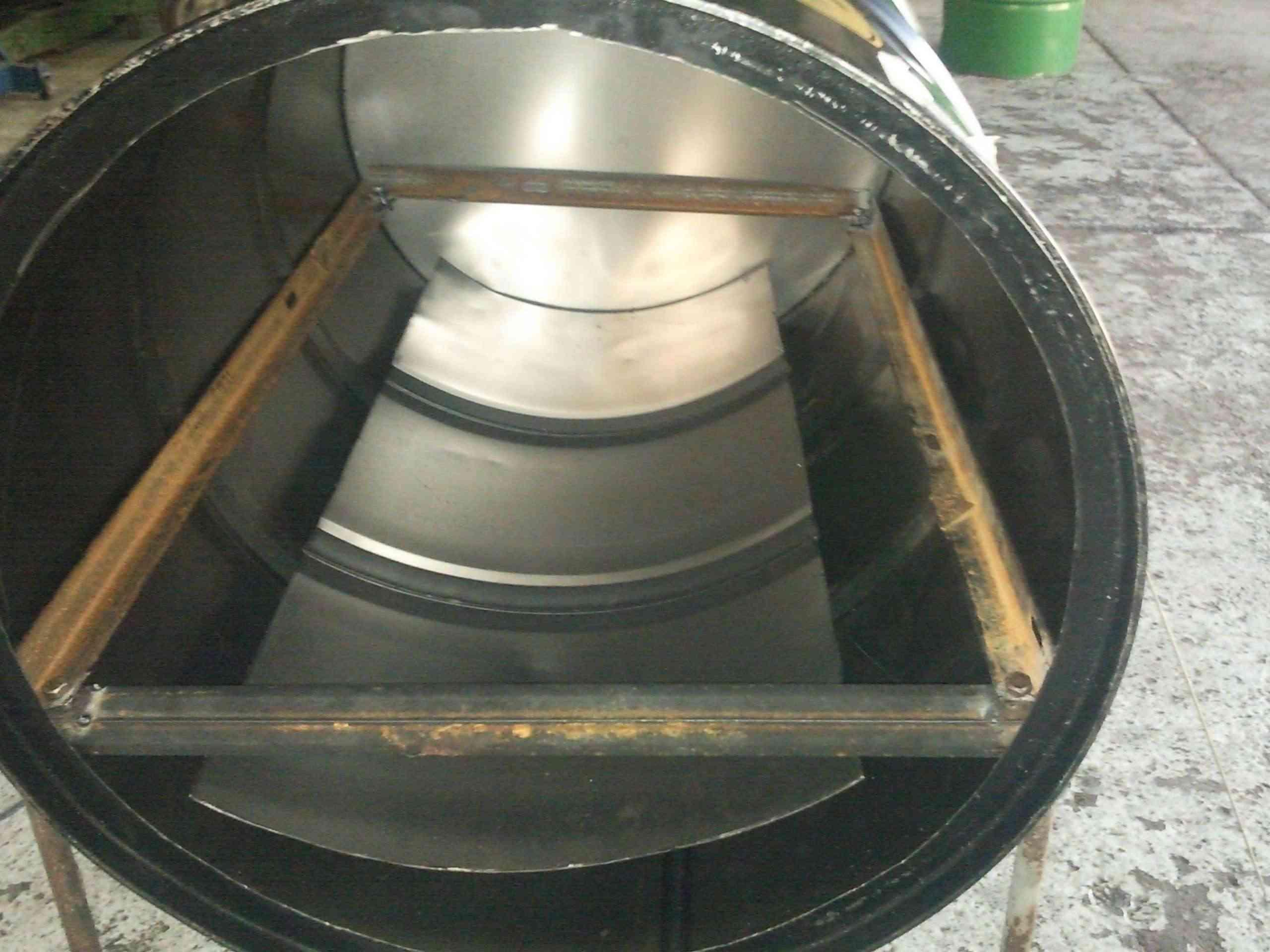 Hice un horno y te lo muestro taringa for Como se hace una puerta de tambor
