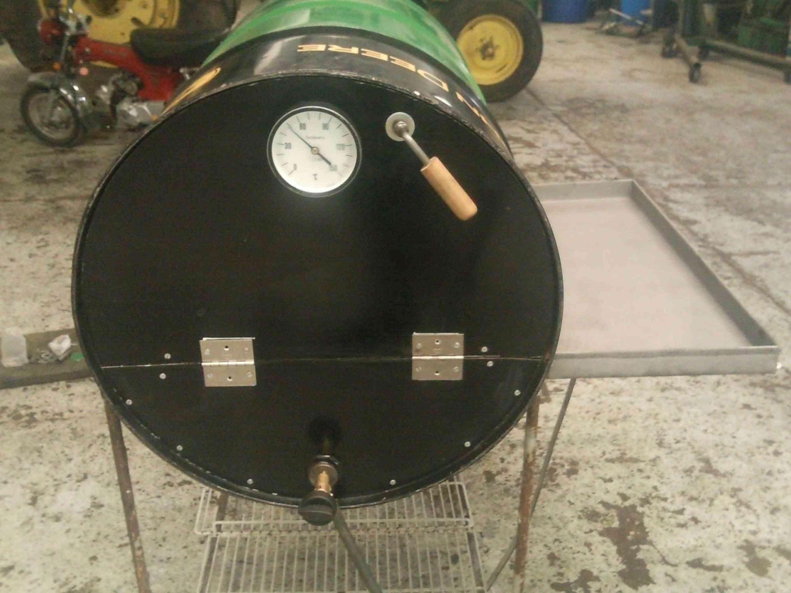 Hice un horno y te lo muestro taringa for Como hacer una puerta de tambor