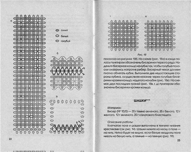 схема игральных кубиков