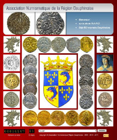 Association Numismatique de la Région Dauphinoise http://a.n.r.d.free.fr/