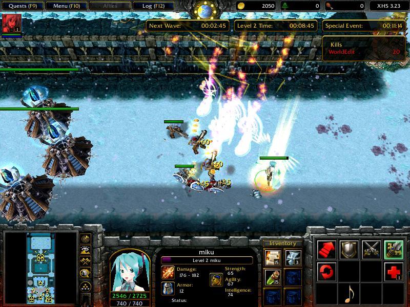 Anime x hero siege v2.29 v� c�ch �p (gh�p) d? Full - MiniGame.VN