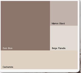 Relooking de mon salon - Couleur cachemire peinture ...