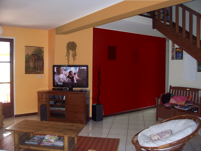 quelle couleur de peinture pour ces murs avec le c r ale et fin p1 page 1. Black Bedroom Furniture Sets. Home Design Ideas