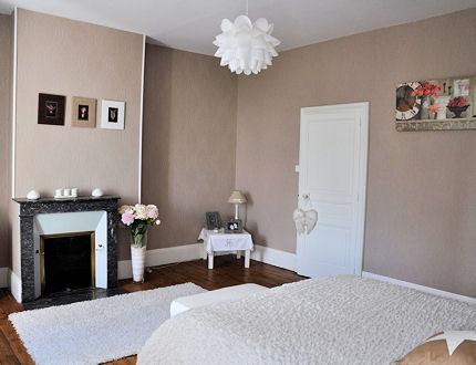 Relooking de mon salon for Peinture murale gris beige