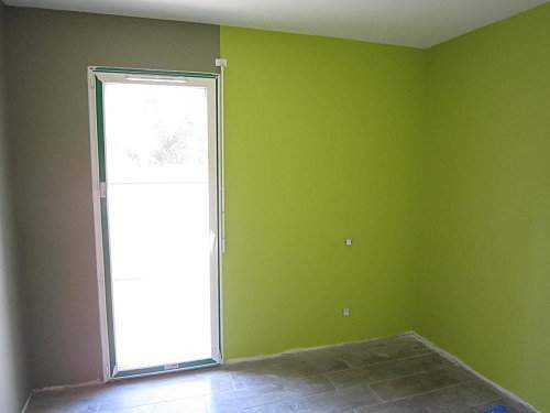 Chambre Taupe Et Vert