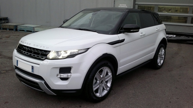 bienvenue sur le forum d di au land rover evoque blanc. Black Bedroom Furniture Sets. Home Design Ideas