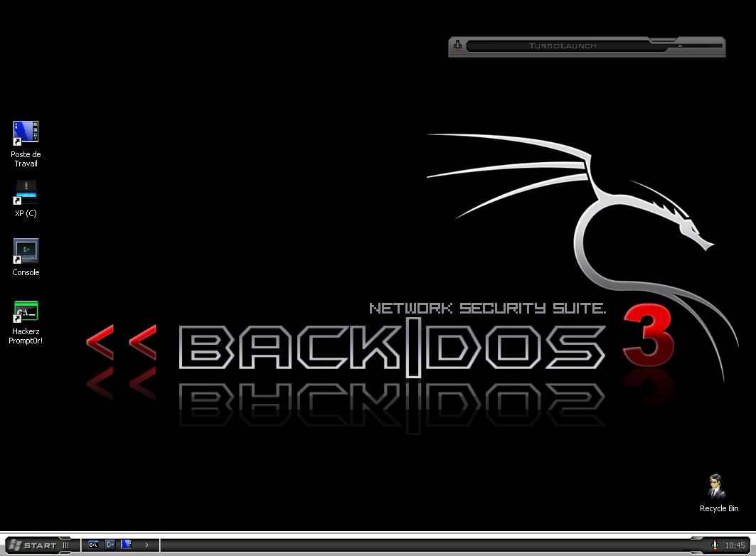 Back|Dos un Back|Track us-fr win32 pour vmware ( Backtrack
