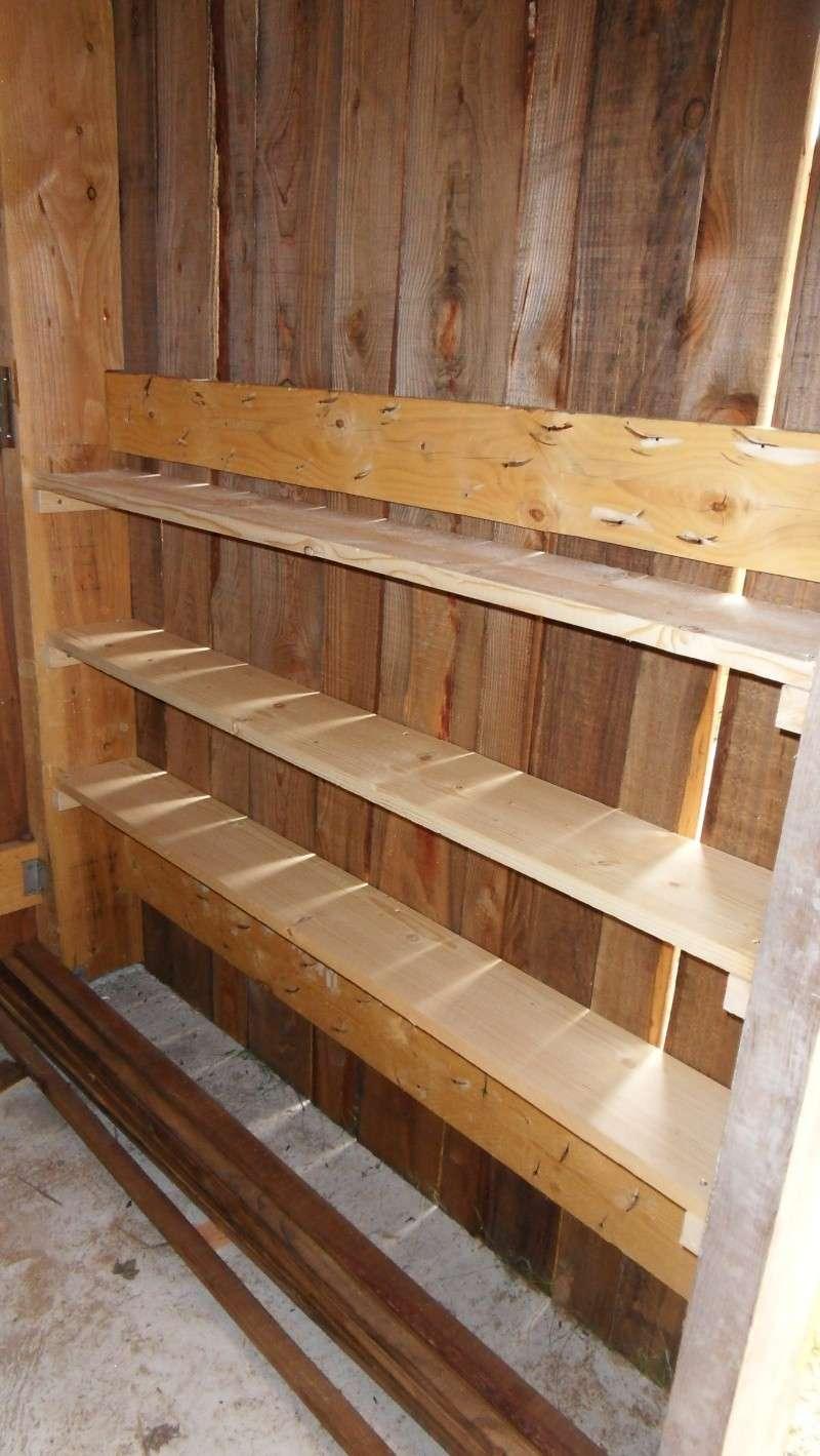 Fabrication d 39 un abris bois page 3 - Table en planche de coffrage ...
