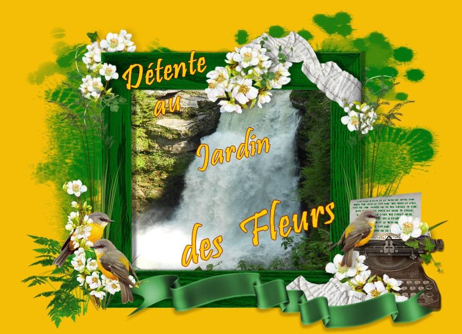 Le jardin aux Fleurs