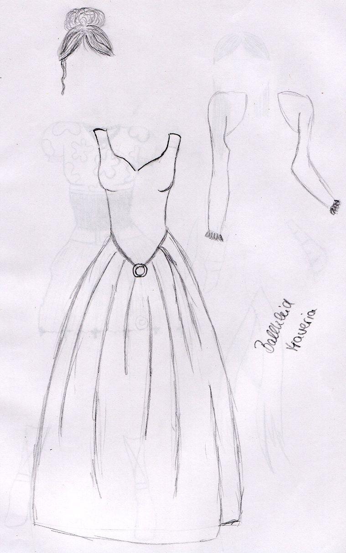 Designer kleider zeichnen beliebte modelle der - Kleider zeichnen ...