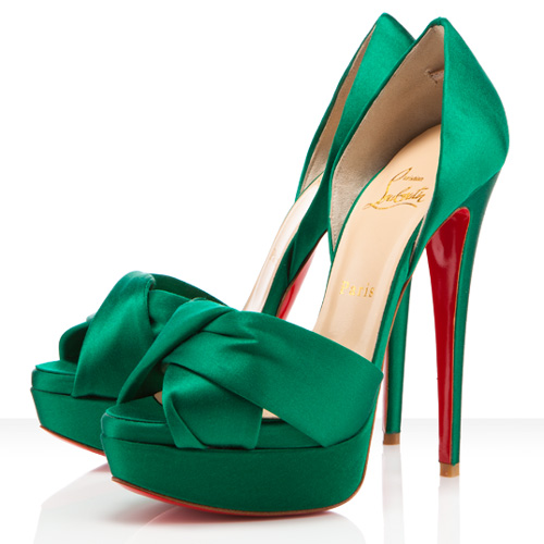 Scarpe Tacco Verdi