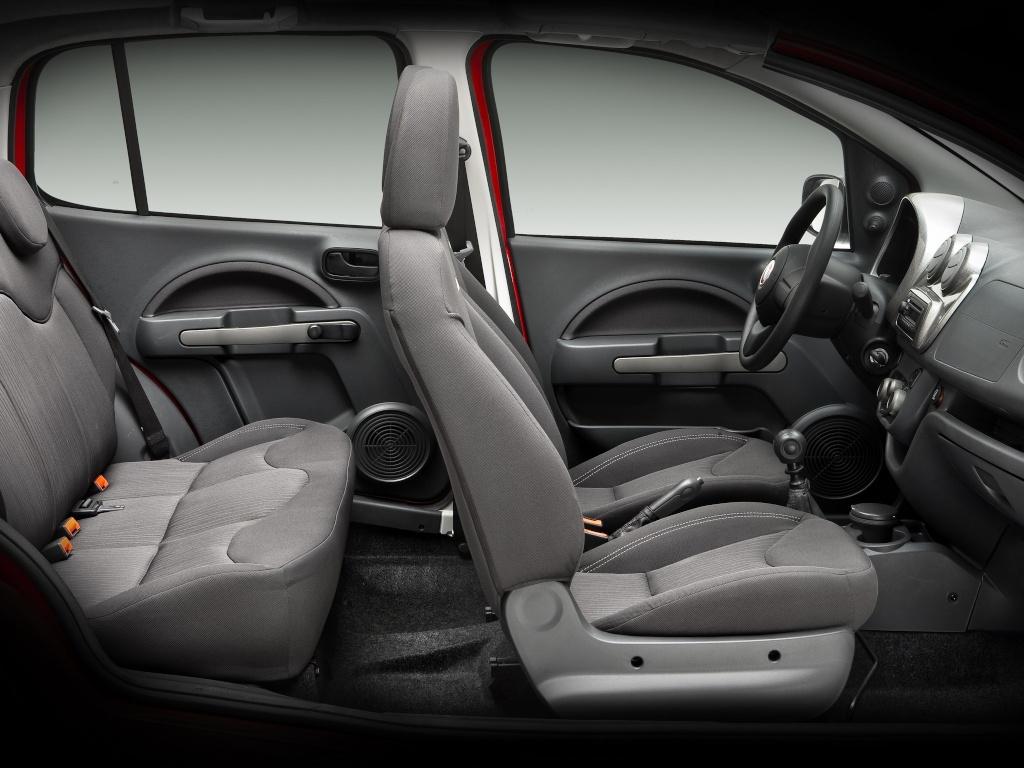 Fiat Uno 2 - L'habitacle