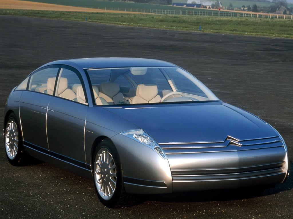 Face avant - Concept Car Citroën C6 Lignage - 1999
