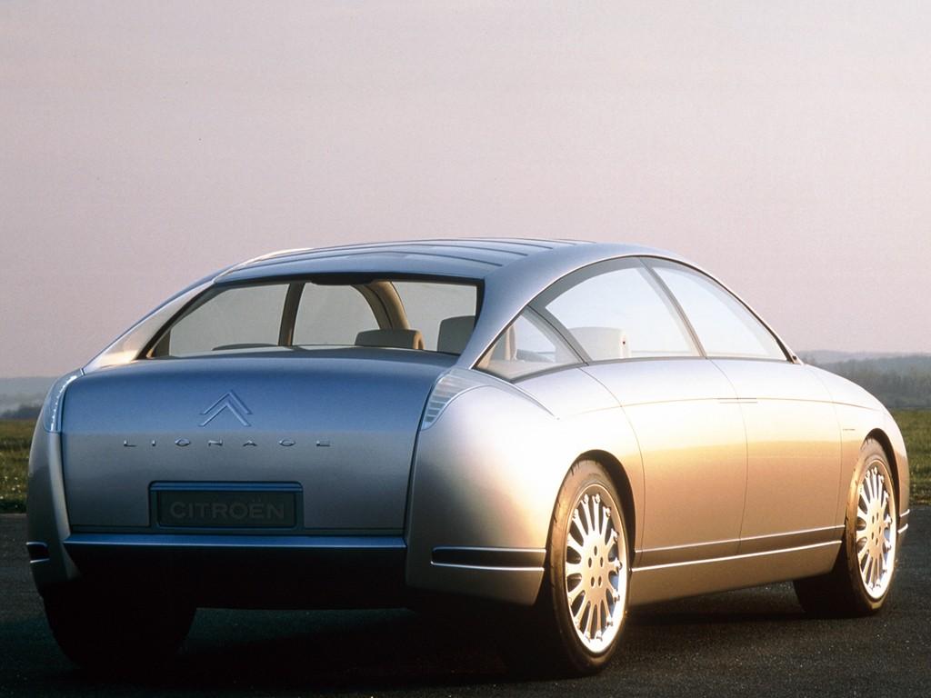 Face arrière - Concept car Citroën C6 Lignage - 1999