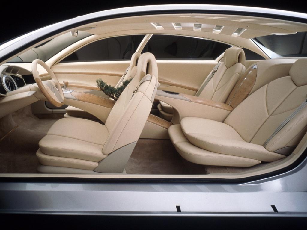 Habitacle - Concept car Citroën C6 Lignage - 1999