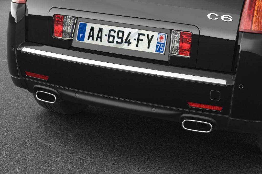 Sorties d'échappement - Citroën C6 V6 3.0 HDi 240 ch
