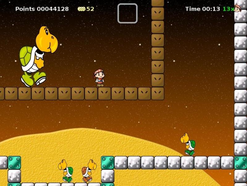 آخر إصدار وأفضل لعبة ماريو للحاسوب على الإطلاق Secret Mar Secret Maryo Chronicles 1.9