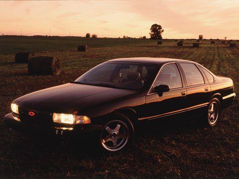 C425 RWD Chevrolet 1996 impala SS review