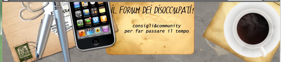 Il forum dei disoccupati