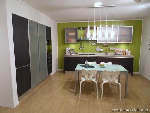Ok aiutino per colore pareti entrata e corridoio - Cucina verde acido ...