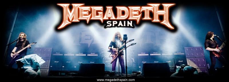 Megadeth Spain
