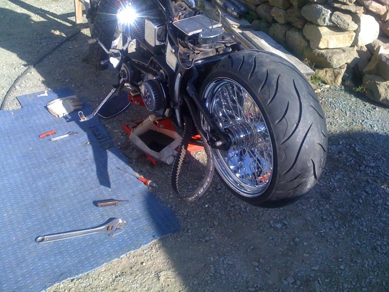 Harley Davidson Demontage Roue Arriere Street