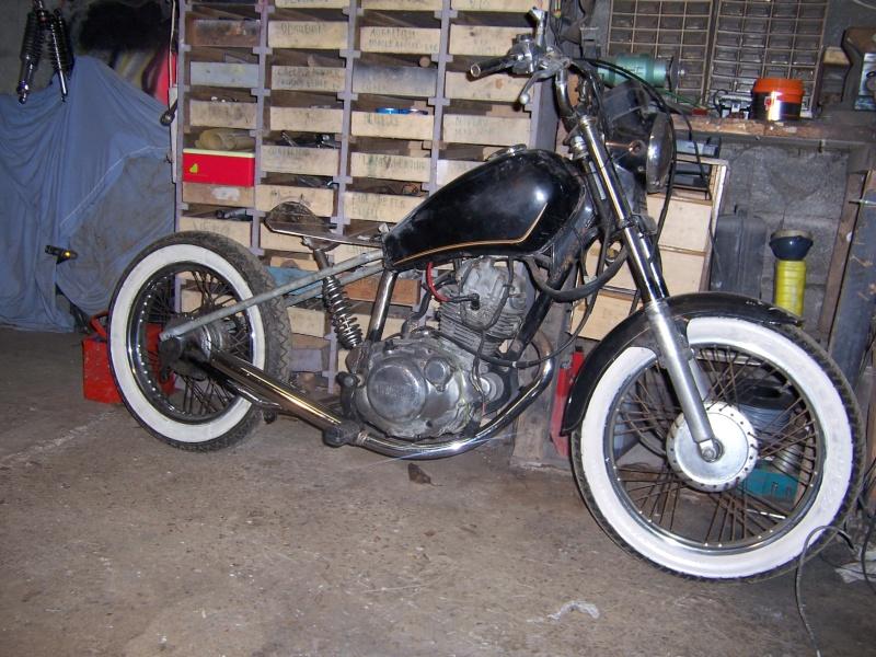 Yamaha125 Sr Bobber Style 125 Cm3 G 233 N 233 Ral 125cm3