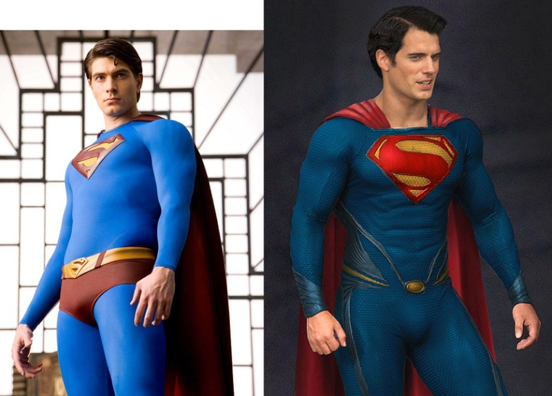 Henry Cavill's Physique Vs. BJ Routh's