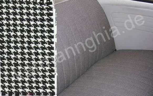 tissu pied de poule neuf pour refection sellerie. Black Bedroom Furniture Sets. Home Design Ideas