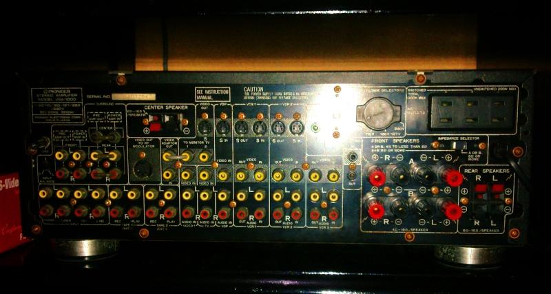 pioneer surround amplifier vsa 1000  u0026 pioneer gr333 7 band
