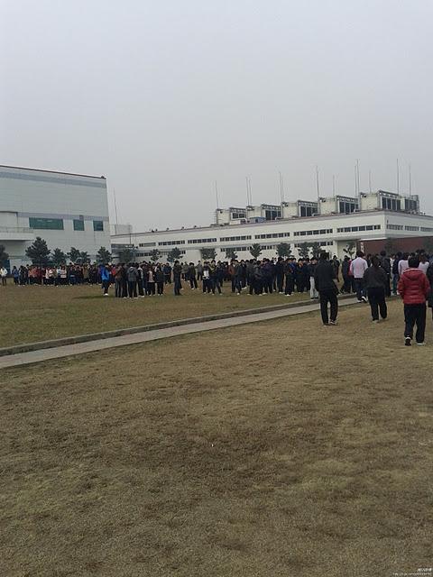 2  En un mois  de très nombreuses grèves en Chine 611