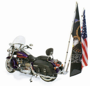 drapeau road king et porte drapeau flhrc flag mount page 2. Black Bedroom Furniture Sets. Home Design Ideas