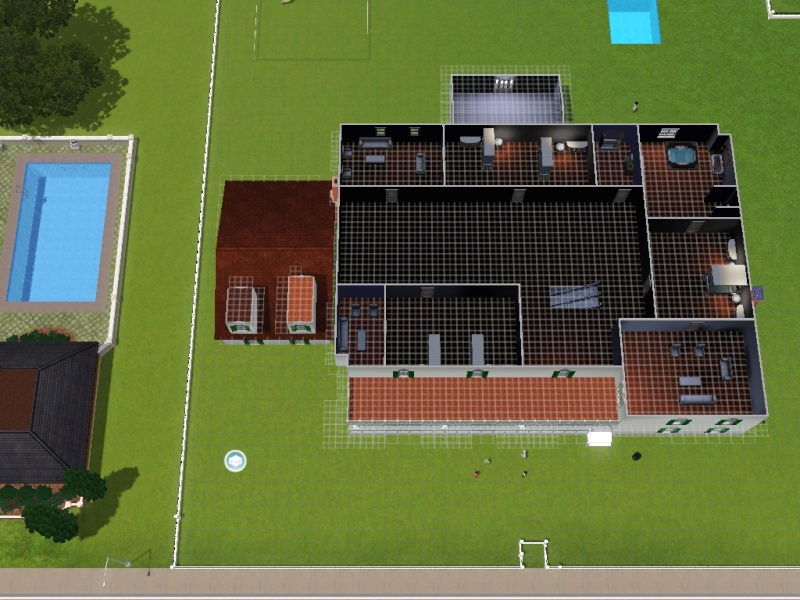 15 cool house blueprints for sims 3 building plans for Sims 3 houses plans