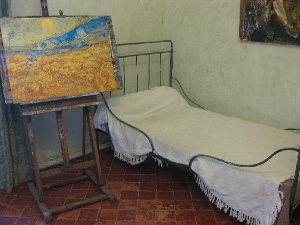 #8- Van Gogh et L'asile de Saint-Paul de Mausolé