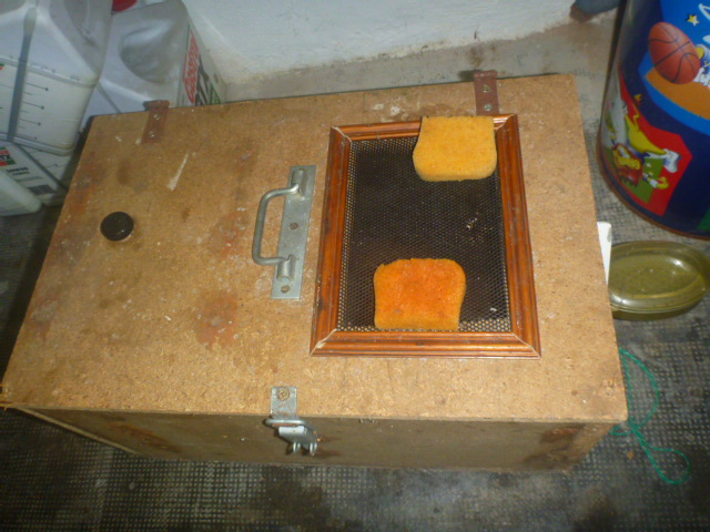 boite d 39 levage mouche noire la p che au toc lacs des pyr n es. Black Bedroom Furniture Sets. Home Design Ideas