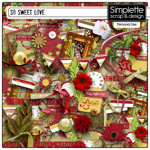 so sweet love kit simplette