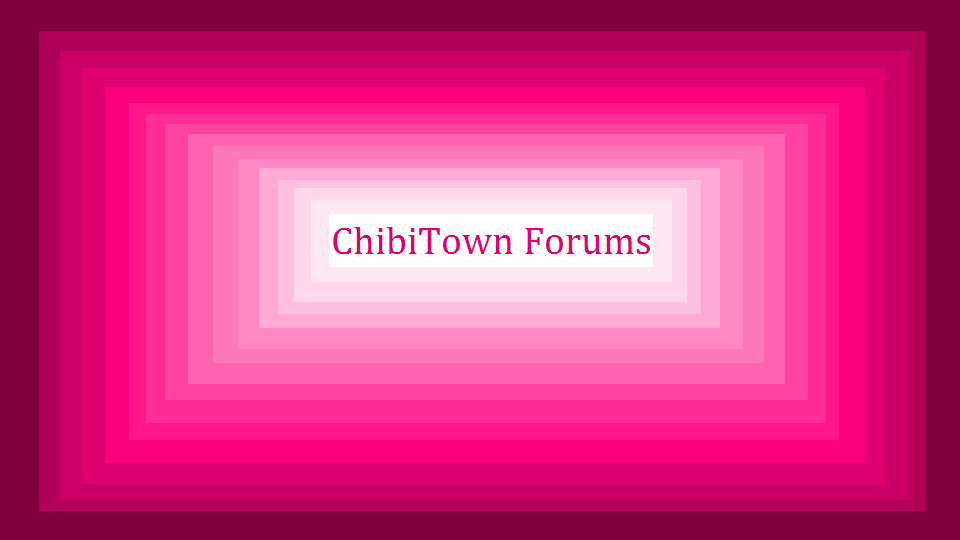 ChibiTown Official Forum
