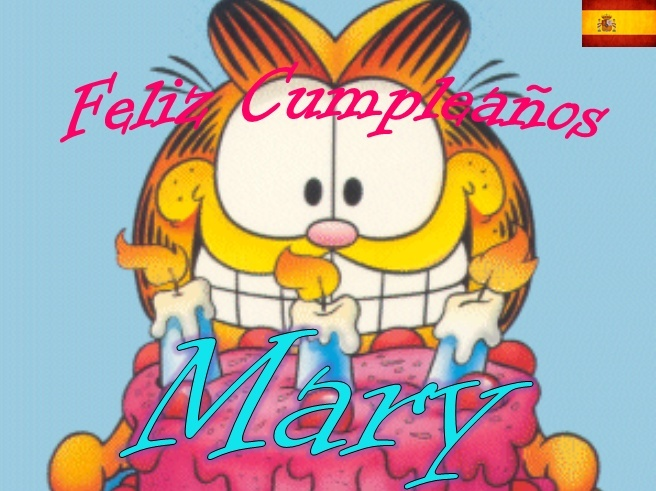 Imagenes de cumpleaños con nombre de mary - Imagui