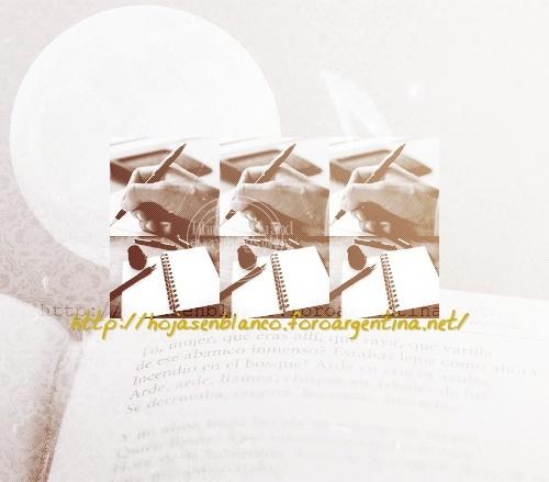 Escribiendo Hojas En Un Libro