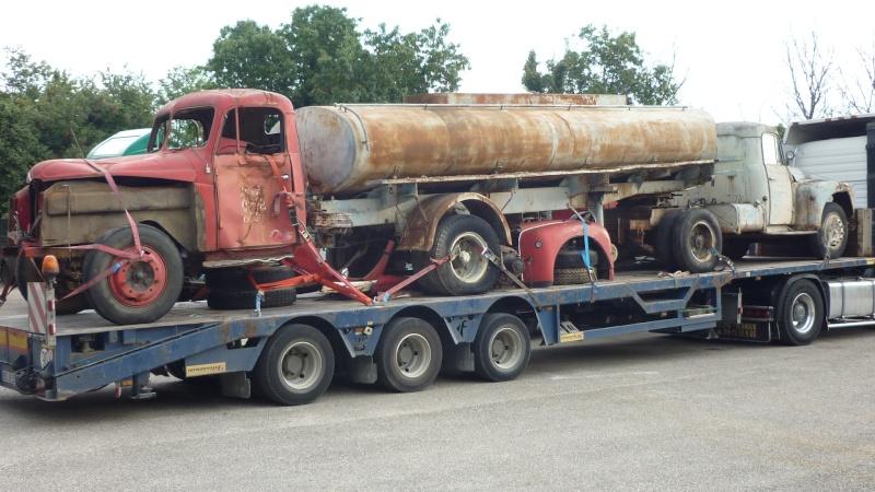 forum des poids lourds camions anciens de collection afficher le sujet citroen u46 et semi. Black Bedroom Furniture Sets. Home Design Ideas