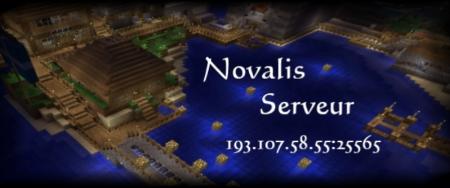 Serveur Minecraft Novalis