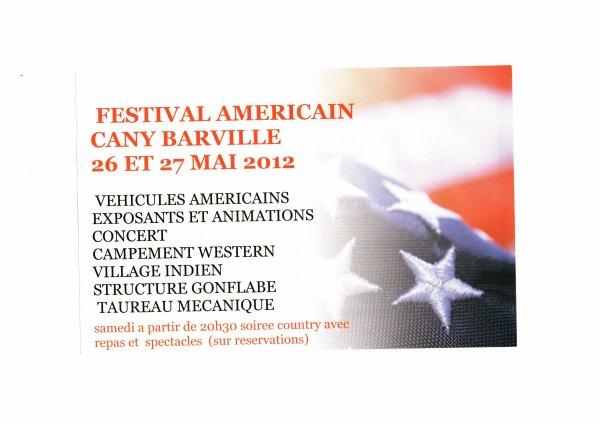 Festival américain de Cany Barville