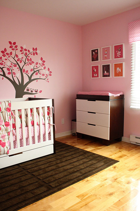 chambre b233b233 fille rose amp marron