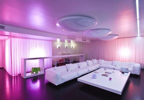 Salon traditionnel marocain vert : T photos de salon salle a manger couleur violet