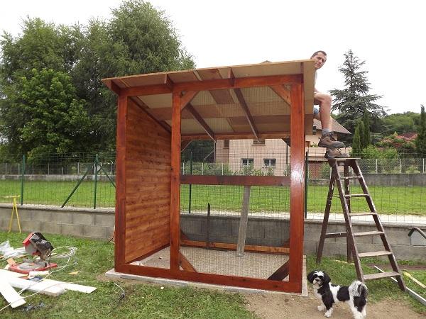 Grande cage pour furets for Accessoire furet fait maison