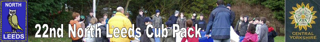 22nd North Leeds Cub Scout Pack Website